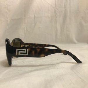 d5759155cdc4 Versace Accessories - Versace Dark Havana Oval Sunglasses MOD. 4177-H